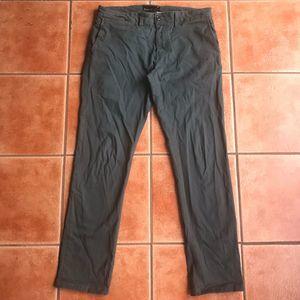 Tavik Modern Beach Straight Pants Green Teal 32